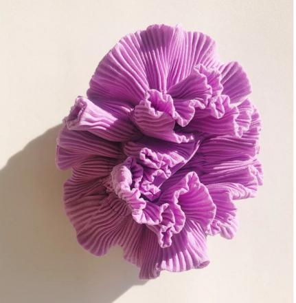 Hello Love Scrunchie Classic Orchid Designed