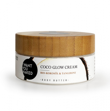 COCO GLOW CREAM Body Butter Bio-Kokosöl
