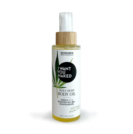 HOLY HEMP Body Oil Bio-Hanfsamenöl 100ml