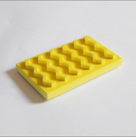 Seifenablage Uni Gelb VLO Design Hergestellt