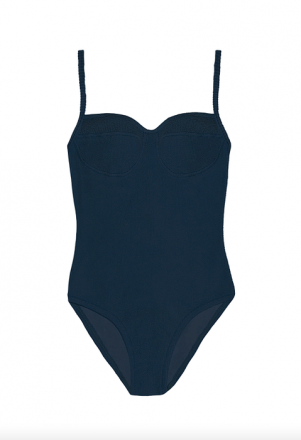 Clo Stories Colette textured swimsuit in
