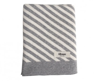 Eef Lillemor Blanket stripes/grey Babydecke