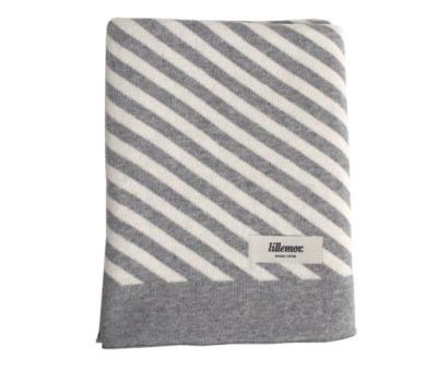 Eef Lillemor Blanket stripes/grey Babydecke