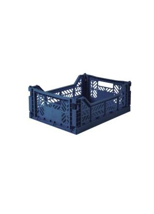AyKasa Midi Storage Box Navy Storage
