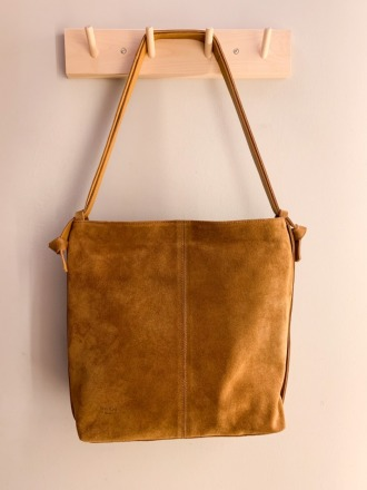 Tine Suede Anthrazit Convertible Bag Suede