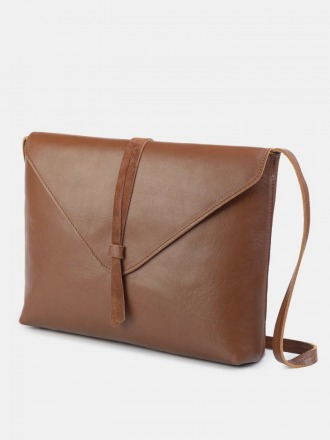 Tira Nappa Shoulder Bag Cuoio by