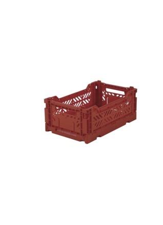 AyKasa Mini Storage Box Tile Red