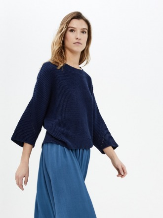 mayke pullover - indigo - by-bar
