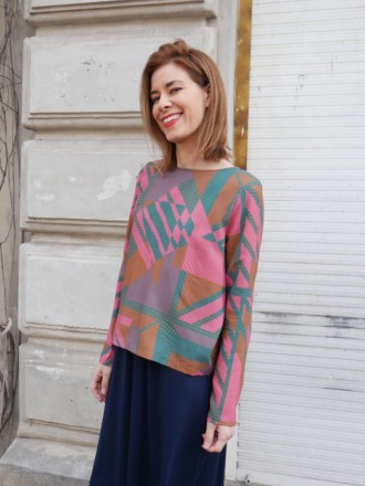 MIO ANIMO TET BLOUSE V201 Fair