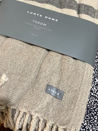 Decke Kamoos-Throw Wool Blend Luhta Home