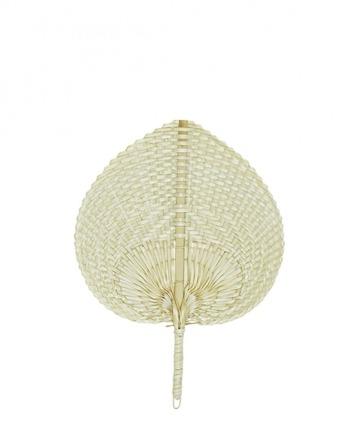 Bambusfächer klein 20x27cm Liv Interior sustainable