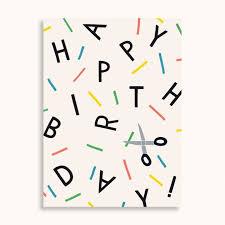 Postkarte - Happy Birthday - familytreeshop