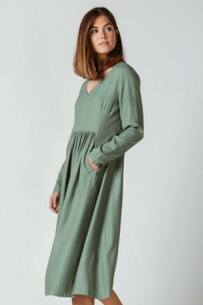 SKFK IRAIDA DRESS grey green 100