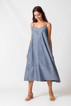SKFK URBIA Dress light blue 100