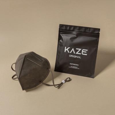 KAZE FFP2 Maske Espresso 3-dimensional respirator