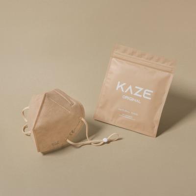KAZE FFP2 Maske Natural Sand 3-dimensional