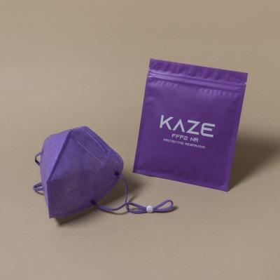 KAZE FFP2 Maske Ultraviolet 3-dimensional respirator