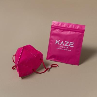 KAZE FFP2 Maske Fuchsia 3-dimensional respirator