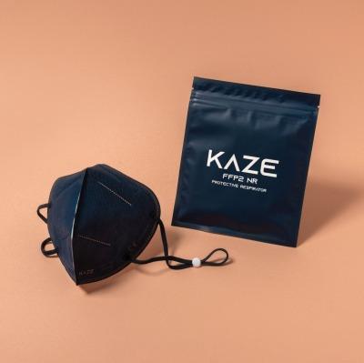 KAZE FFP2 Maske Royal Blue 3-dimensional
