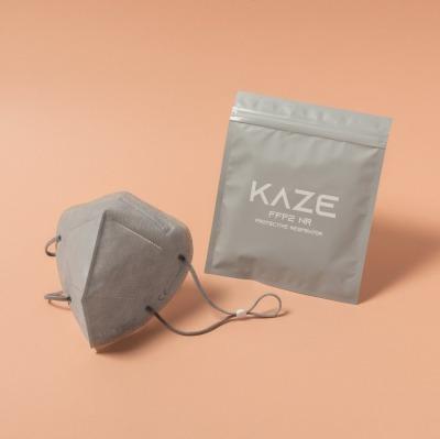 KAZE FFP2 Maske Dove Grey 3-dimensional