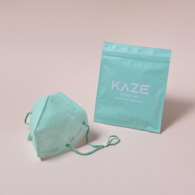 KAZE FFP2 Maske Sweet Pea 3-dimensional