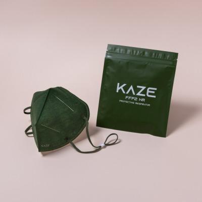 KAZE FFP2 Maske Forest Pine 3-dimensional