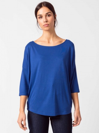 MARIAPAULE T-SHIRT blue by SKFK Ethical
