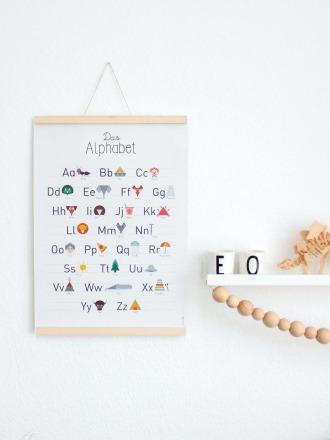 Alphabet-Poster - FräuleinEA