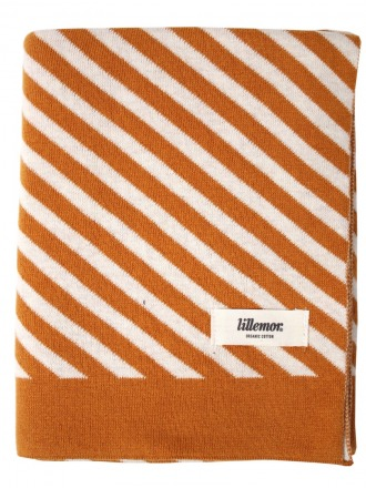 Blanket stripes/brown by Eef Lillemor