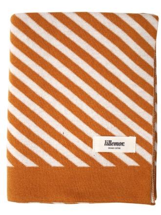 Blanket stripes/brown by Eef Lillemor