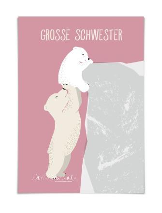 GROSSE SCHWESTER DIN A5 in Deutschland
