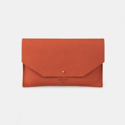 Mia Envelope Western Apple Red by