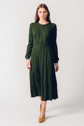 HAIZEA DRESS Green SKFK Ethical Fashion