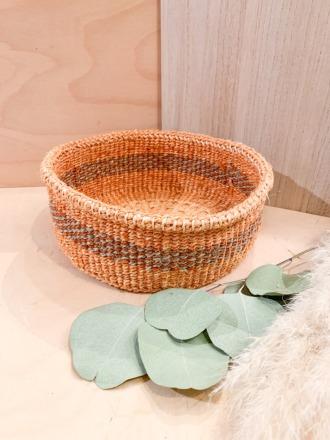 Bread Basket F27 Braun-Grau FAIR TRADE
