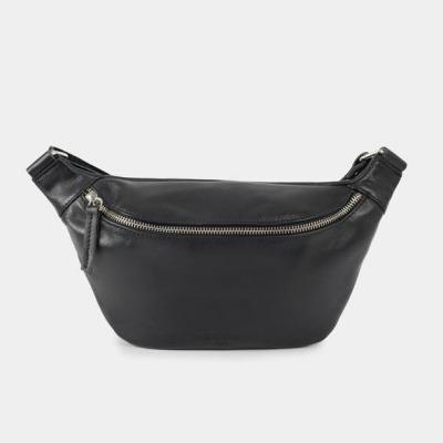 ann kurz Fanny Body Bag Black/Silver