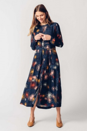 HAIZEA DRESS mimosa Print SKFK Ethical