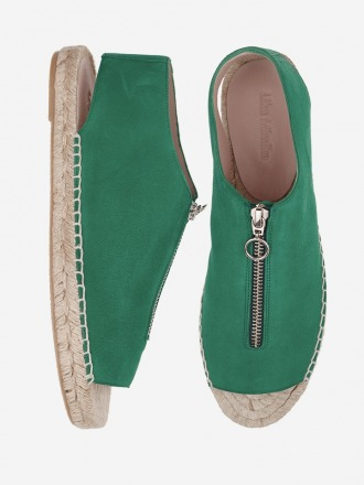 Sandale LEAF Peep Toe Zipper by
