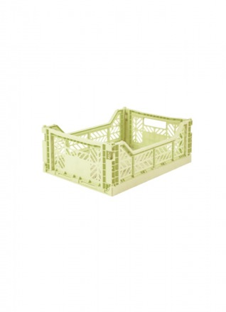 AyKasa Midi Storage Box lime cream