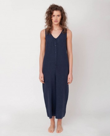 BEAUMONT ORGANIC GIANNA-NAVY JUMPSUIT BEAUMONT ORGANIC