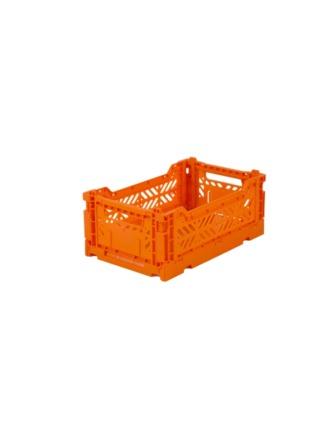 AyKasa Mini Storage Box Orange Storage