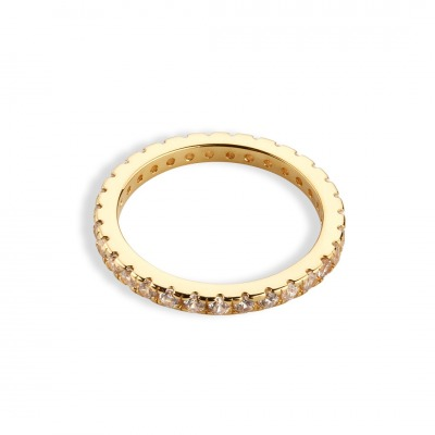 Hello love Ring Memory clear 925er