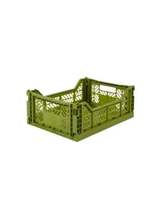 AyKasa Midi Storage Box Olive Storage
