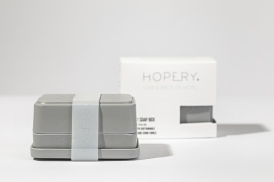 Hopery in soap box GREY GIVE