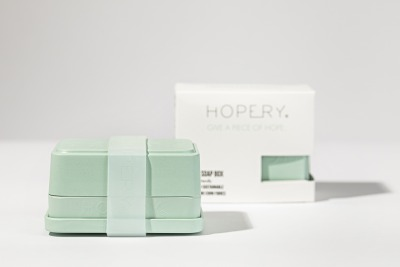 in soap box MINT Hopery- GIVE