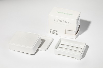 in soap box WHITE Hopery- GIVE