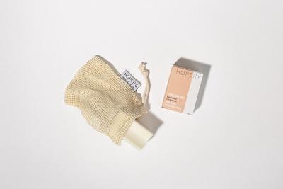 cotton shower soap bag HOPERY Hopery-