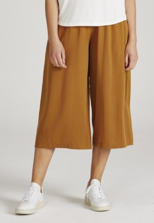 Given Anna Trousers Rubber Brown aus