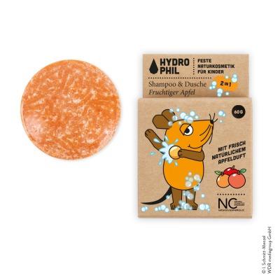 HYDROPHIL Kinder Shampoo Dusche Fruchtiger Apfel