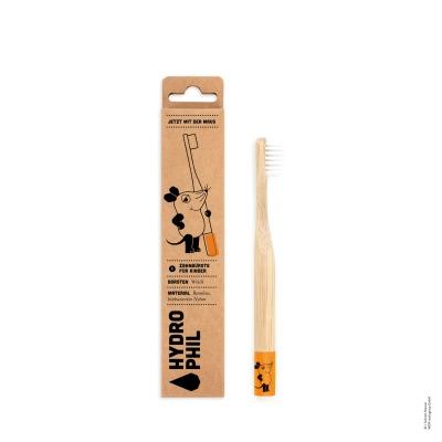 HYDROPHIL Kinder Bambus-Zahnbürste Weich Maus