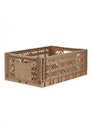 AyKasa Maxi warm taupe Storage Box